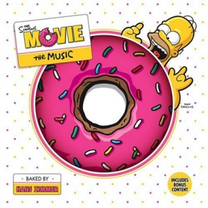 The Simpsons Movie sountrack - CD cover