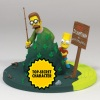 The Simpsons Movie - Bart and Flanders with mystery character