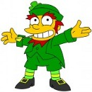 Simpsons Leprechaun